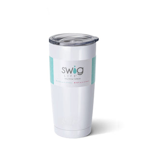 Swig 20oz Tumbler Diamond White
