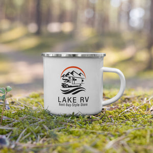 Load image into Gallery viewer, Logo Enamel Mug