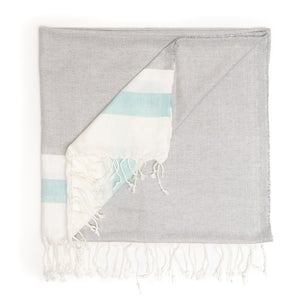 Load image into Gallery viewer, Three Color Peshtemal Pure Turkish Cotton Towel
