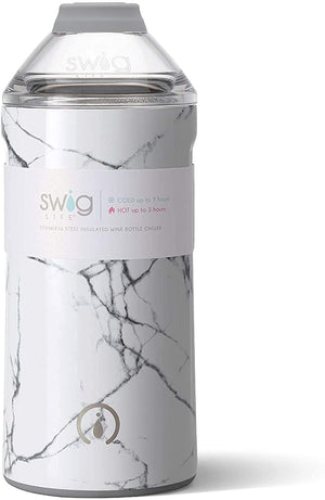 Load image into Gallery viewer, Swig Wine Insulator Marble Slab