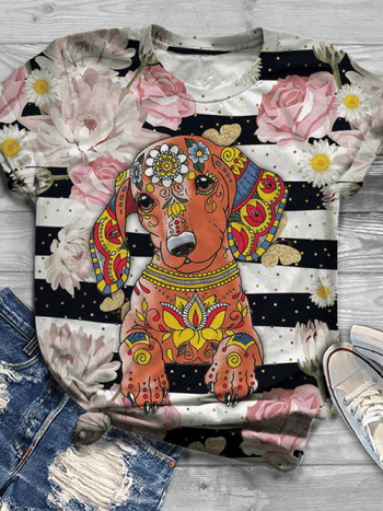 Load image into Gallery viewer, Women's Dog Lover Tee