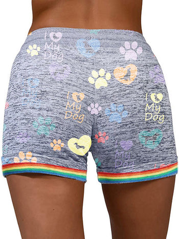 Load image into Gallery viewer, Dog Love Casual Shorts With Pockets