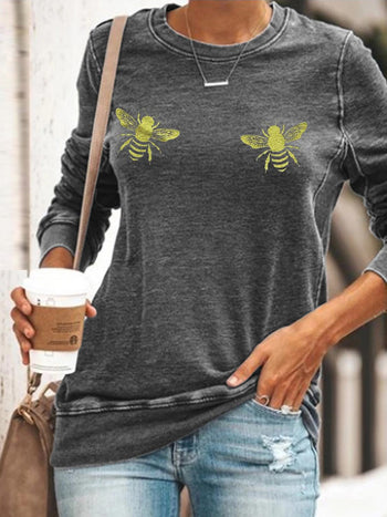 Load image into Gallery viewer, Woment's Boo Bees Sweatshirt