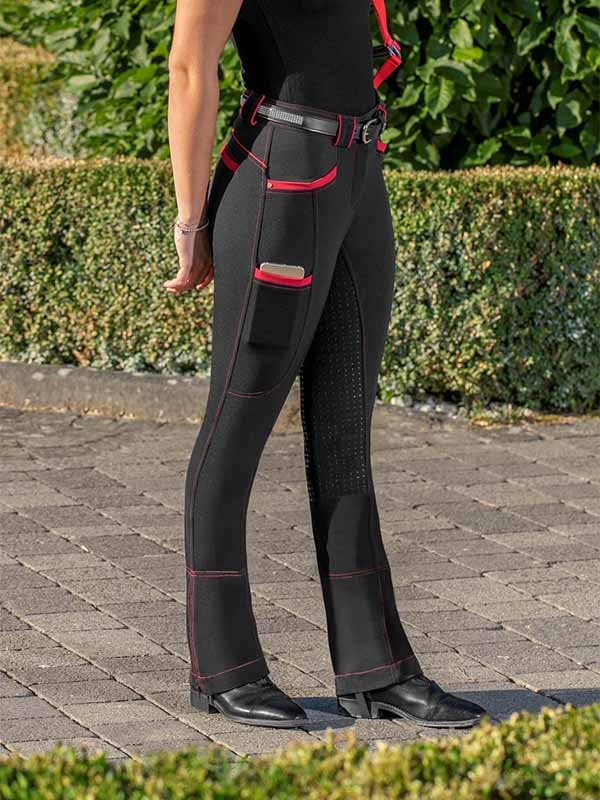 Women's Colorblock Casual Riding Pants
