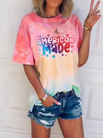 Load image into Gallery viewer, American Made Tie Dye T-Shirt