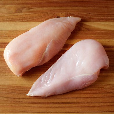 Boneless Skinless Chicken Breast 8oz - 10 pcs