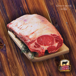 CAB® Ready to Cook Bone-In Prime Rib Roast (Whole/Half)