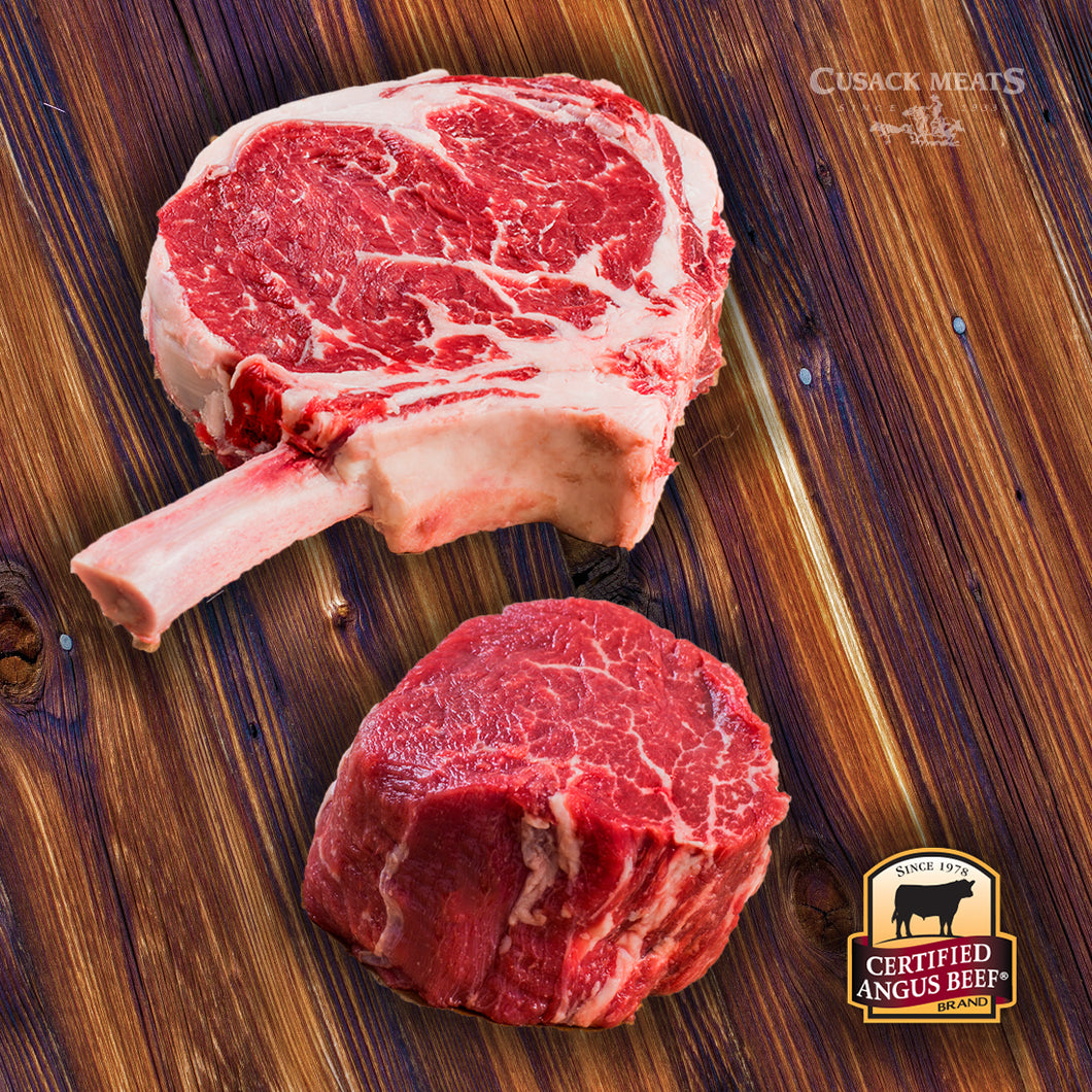 CAB® Combo Filet & Bone-In Ribeye Steak