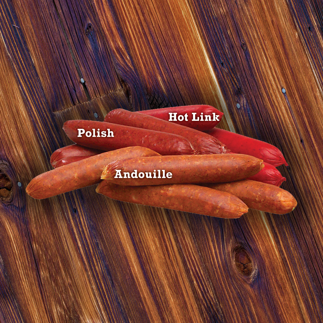 #994 - 4 OZ Hot Link Sausage 4 PC (1 lb.)