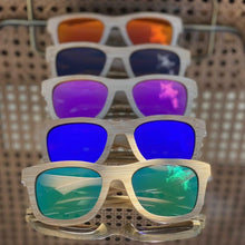 Load image into Gallery viewer, Soul Valley Tribe Bamboo Sunglasses colours display