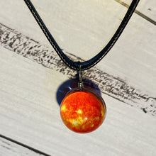 Load image into Gallery viewer, Galaxy Ball Necklace