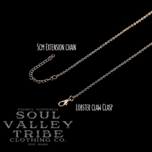 Load image into Gallery viewer, soulvalleytribe gold lobster claw clasp and extension chain
