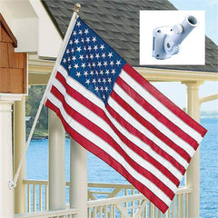 6ft Spinner Flagpole Kit