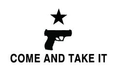 Come and Take It Handgun Flag