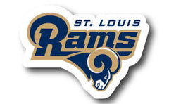 St. Louis Rams Decal