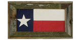 Antiqued Texas Flag in Double Print