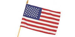 On Staff USA Flag