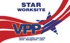 VPP Star Compliance Flag 4ft x 6ft