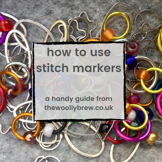 how to use stitch markers...