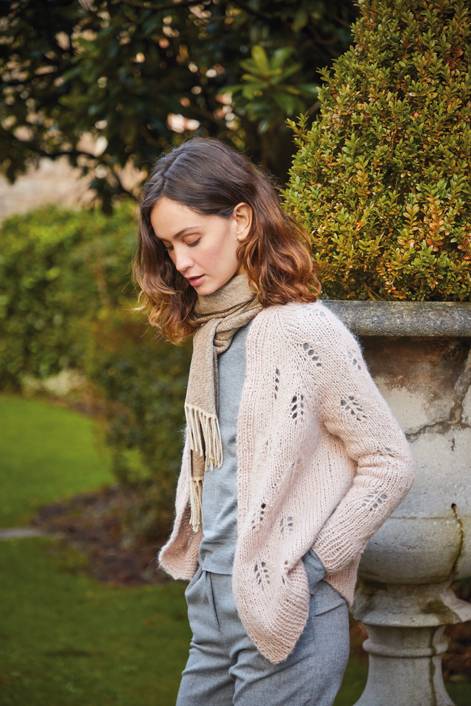 Abbotsford from Rowan Magazine 68 in Alpaca Classic