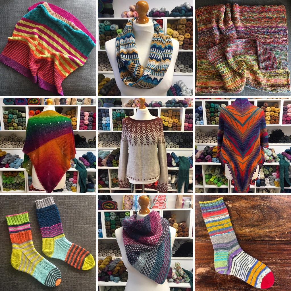 knitting projects from the woolly brew