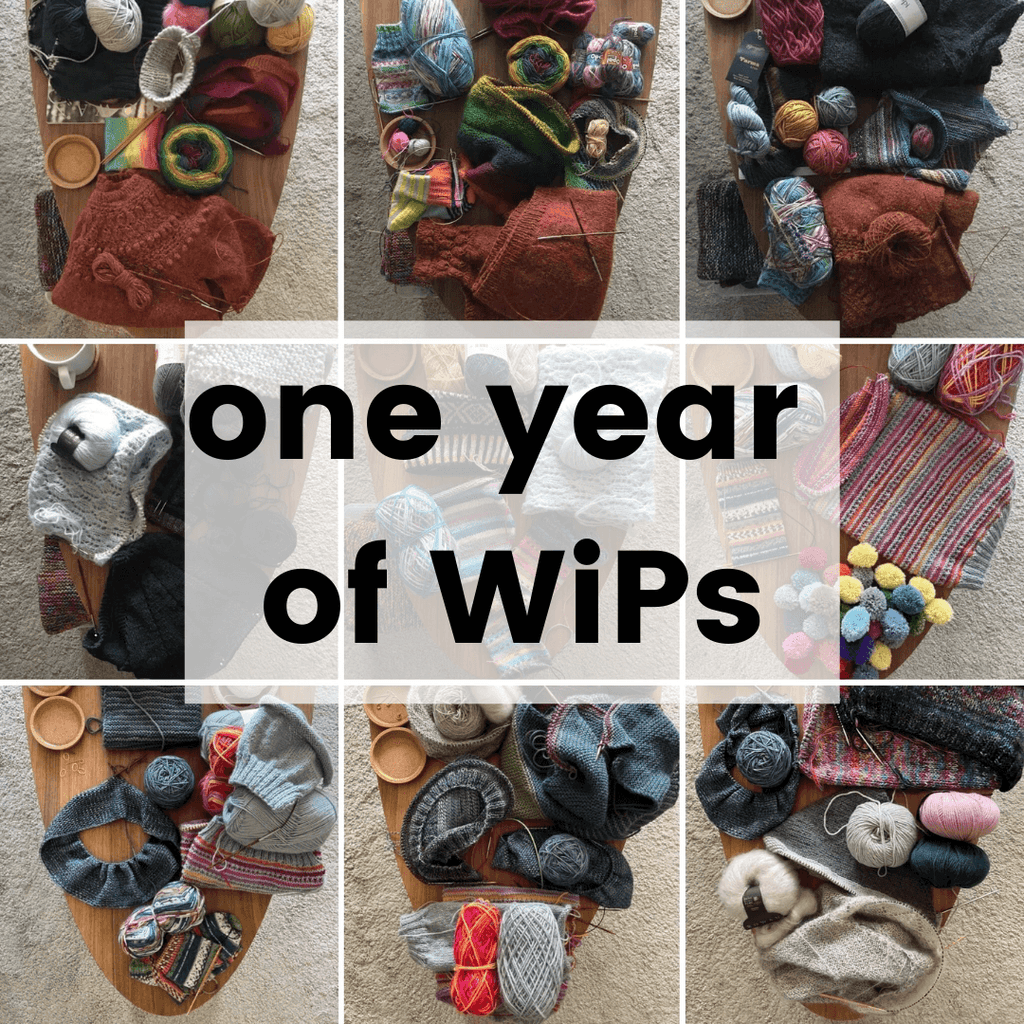one year of wips