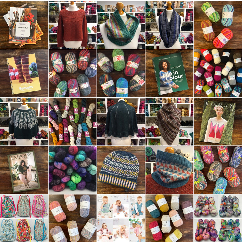 20 new yarns, patterns and hand knits at the woolly brew