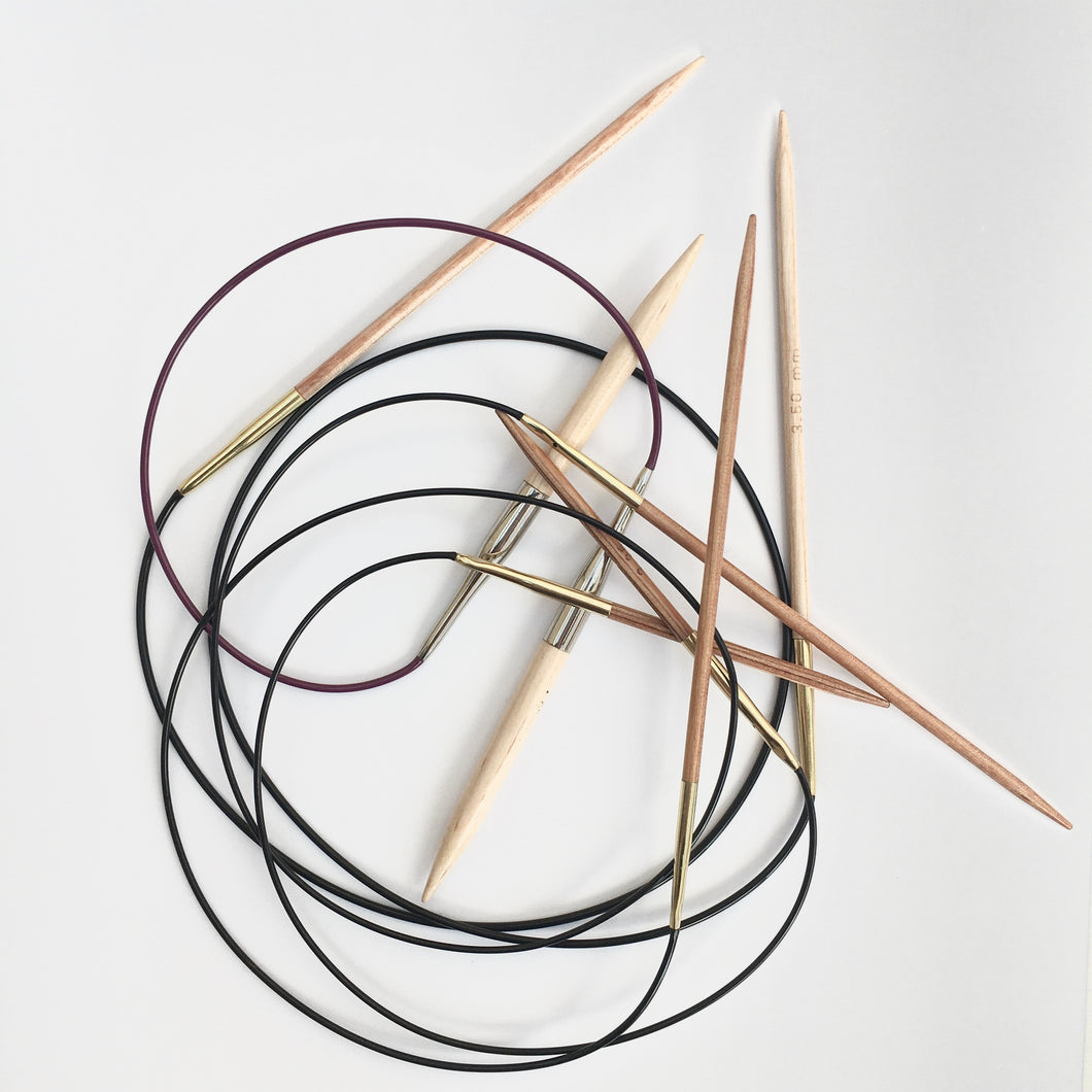 Basix fixed circular needles