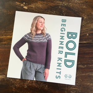 Bold Beginners Knits