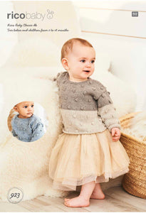 Rico Baby Classic DK Knitting Patterns (up to 18mths)