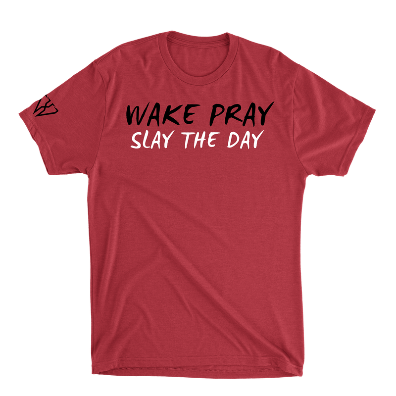 Wake Pray Slay The Day - Men's T-Shirt