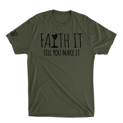Faith It Till You Make It - Men's T-Shirt