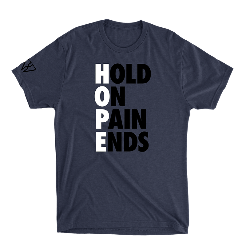 Hold On Pain Ends - Men's T-Shirt