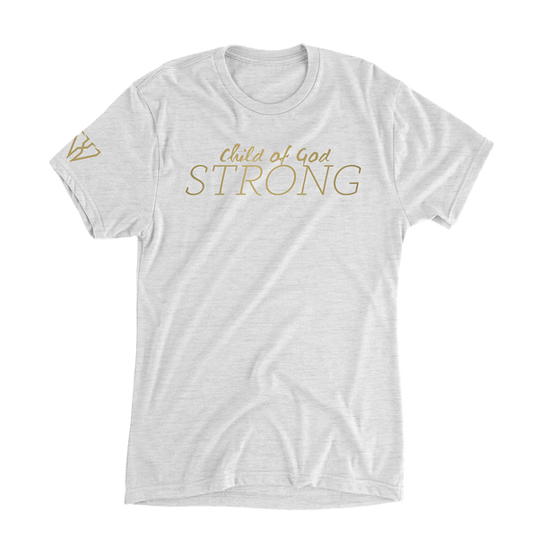 Child Of God Strong - Women's Casual T-Shirt