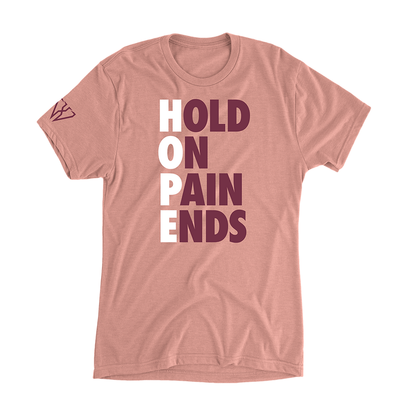 Hold On Pain Ends - Women's Casual T-Shirt