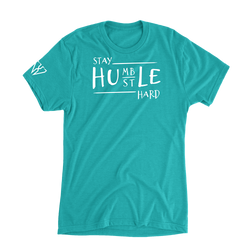 Stay Humble Hustle Hard - Women's Casual T-Shirt