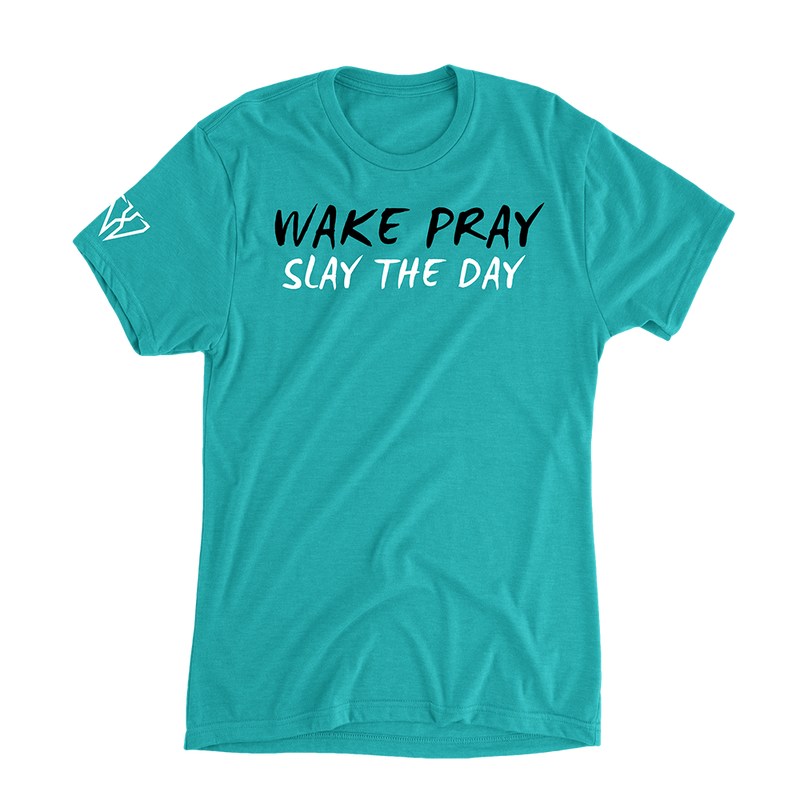 Wake Pray Slay The Day - Women's Casual T-Shirt