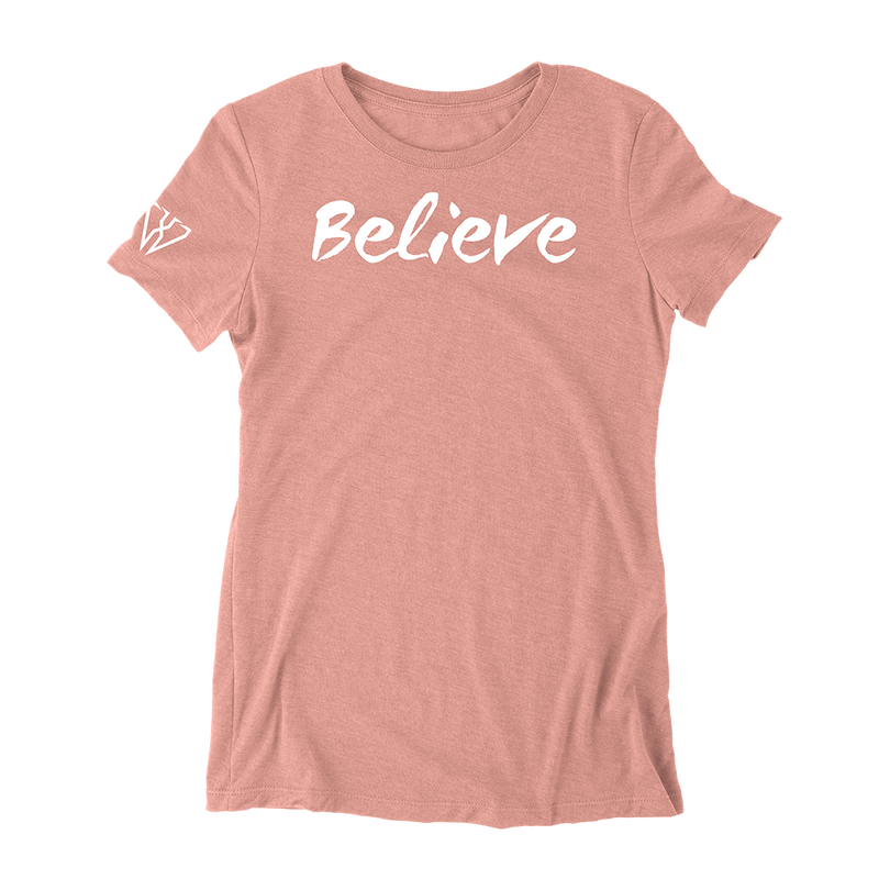 Believe - Women's Fitted T-Shirt