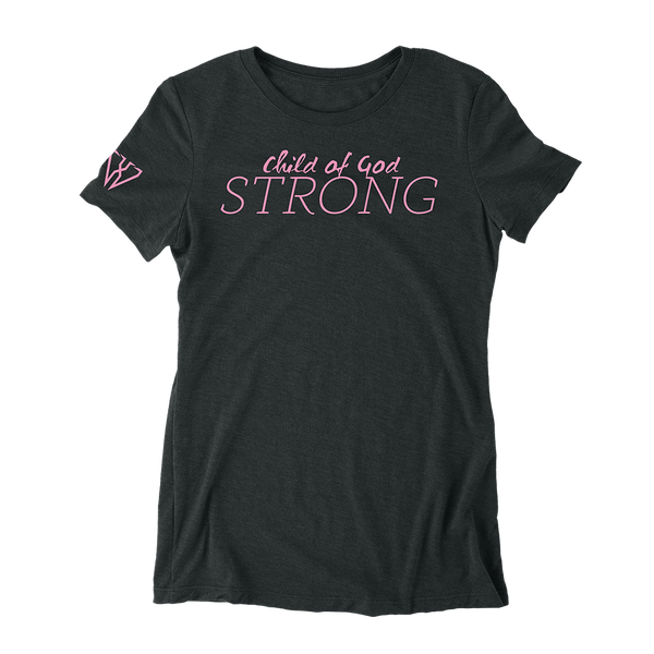 Child Of God Strong - Women's Fitted T-Shirt