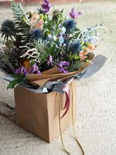 Load image into Gallery viewer, Seasonal Hand Tied Plentiful Bouquet