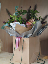 Load image into Gallery viewer, Seasonal Hand Tied Bouquet