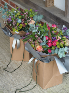 Seasonal Hand Tied Plentiful Bouquet