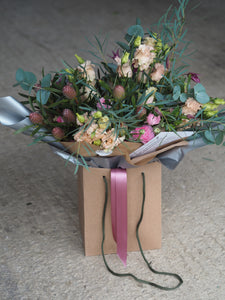 Seasonal Hand Tied Empress Bouquet