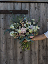 Load image into Gallery viewer, Seasonal Hand Tied Simply Exquisite Bouquet