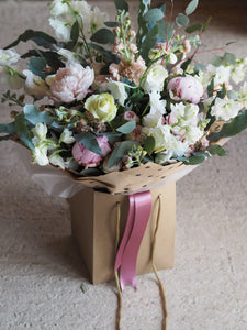 Seasonal Hand Tied Simply Exquisite Bouquet