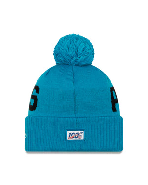 NFL Carolina Panthers New Era 19 Road Sport Knit - Blue