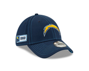 NFL Los Angeles Chargers New Era 2019 Sideline Road 39THIRTY - Navy