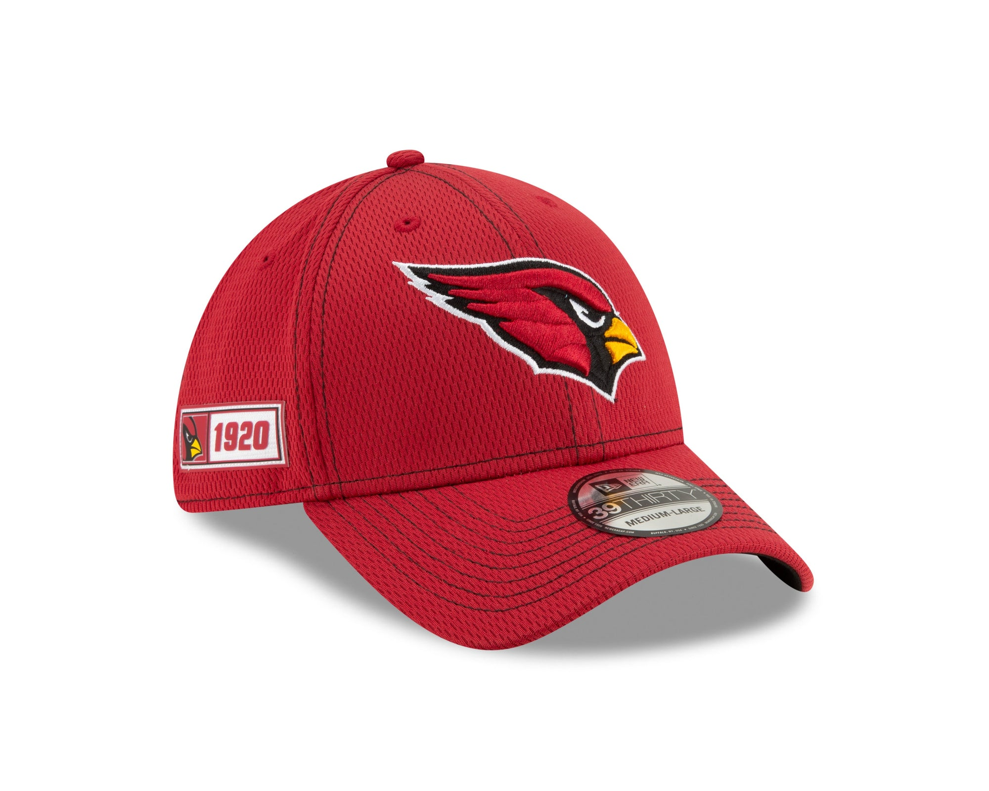 NFL Arizona Cardinals New Era 2019 Sideline Road 39THIRTY - Red