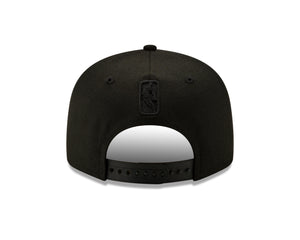 NBA New York Knicks New Era Back Half Black on Black - Black