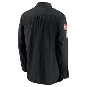 NFL Arizona Cardinals Nike 2020 Salute to Service Sideline Full-Zip Lightweight Jacket - Black